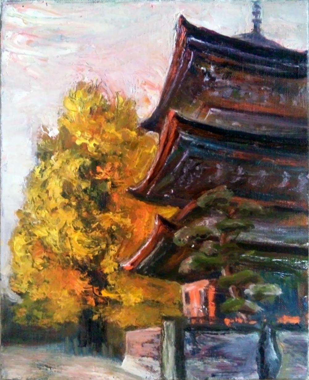 国分寺の秋